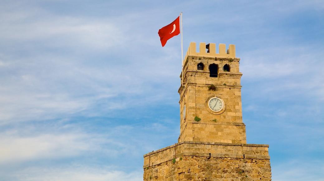 Torre del Reloj que incluye arquitectura patrimonial