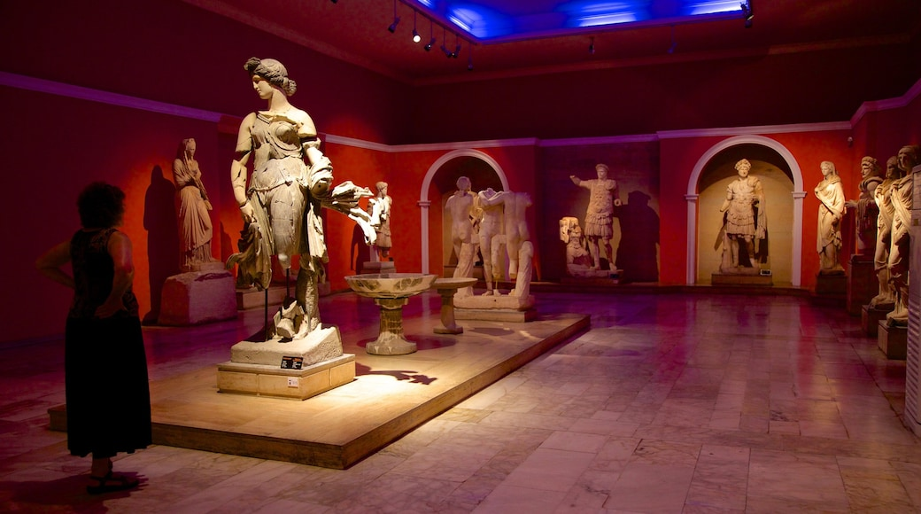 Antalya Museum which includes a statue or sculpture