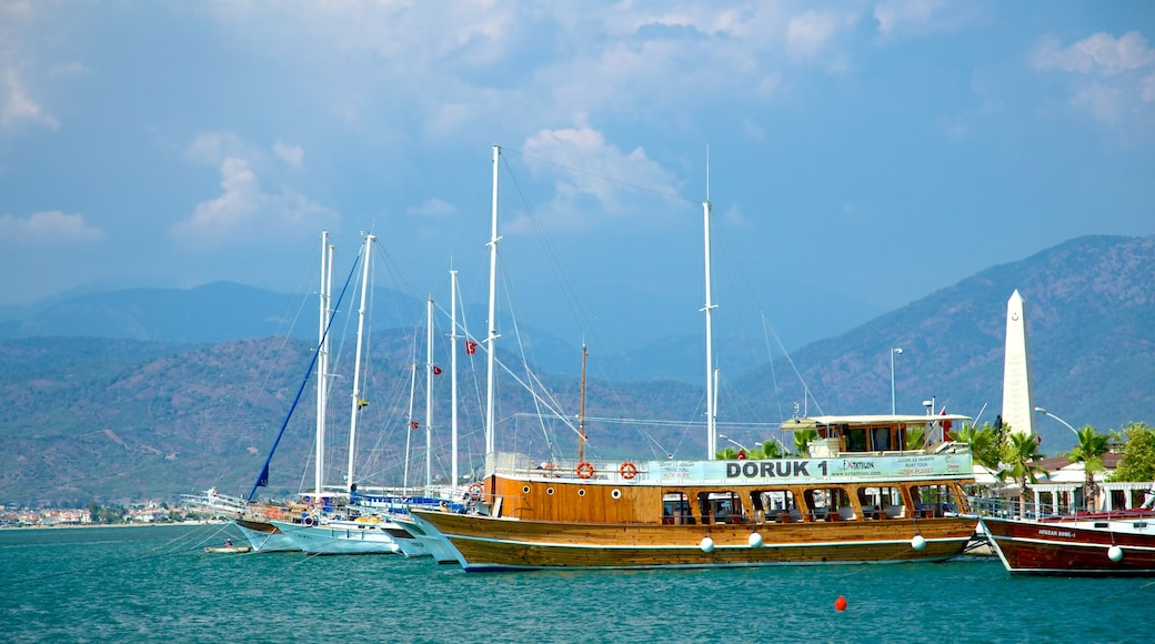 Fethiye featuring general coastal views and a bay or harbor