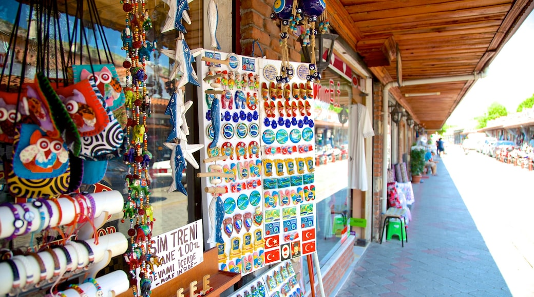 Fethiye featuring street scenes