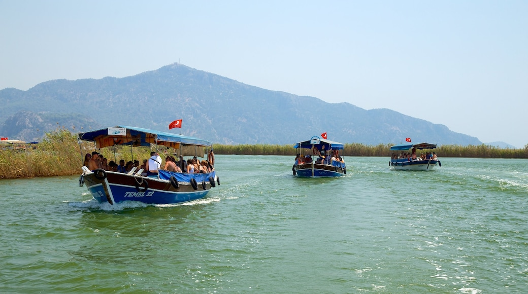 Dalyan featuring boating and a river or creek