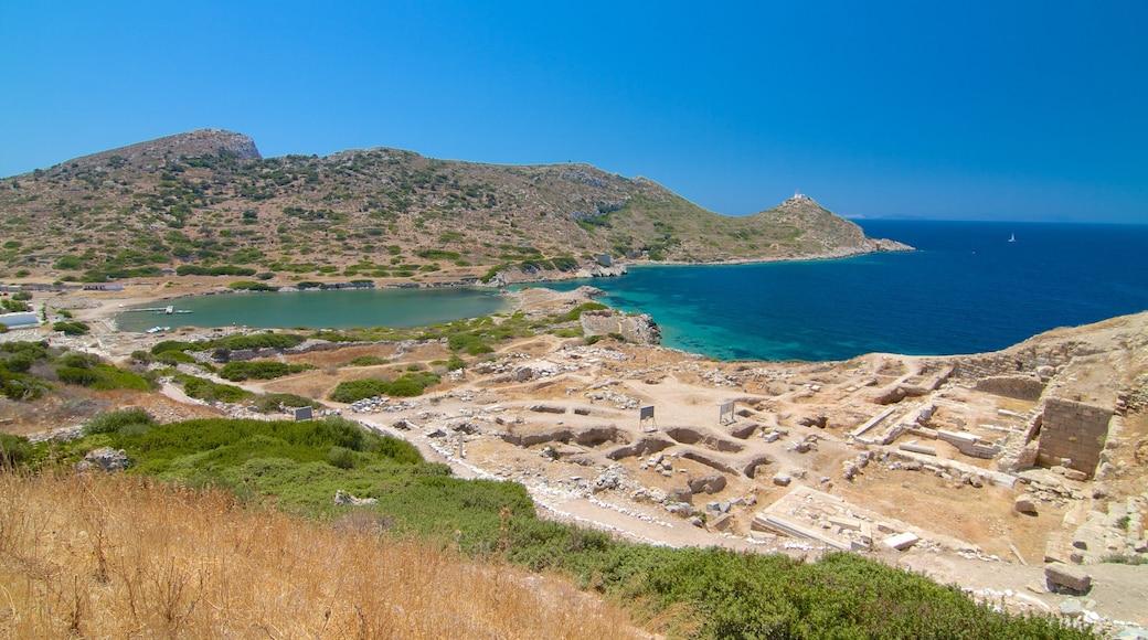 Knidos mit einem allgemeine Küstenansicht und Ruine