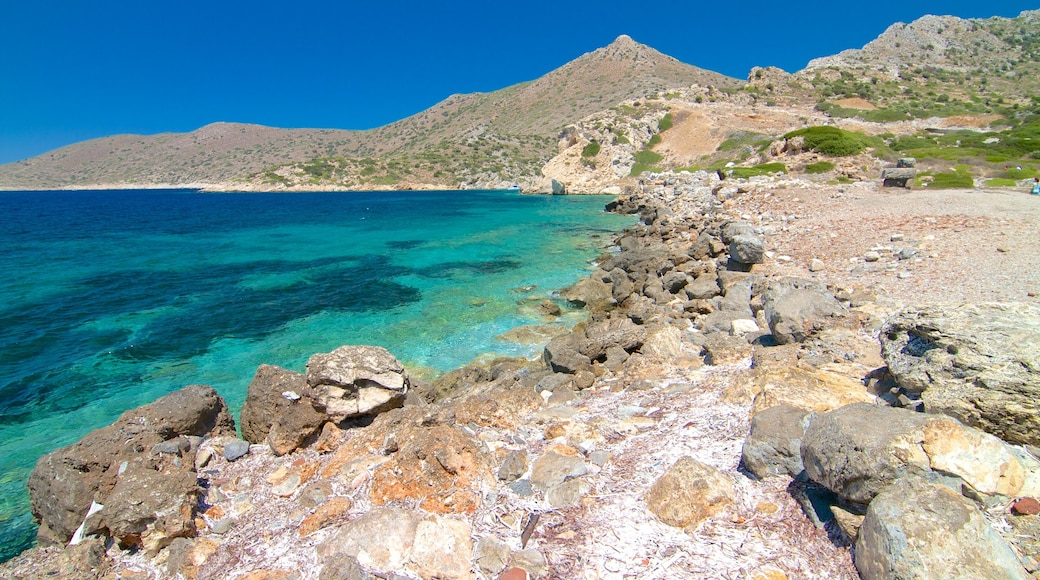 Knidos which includes rocky coastline