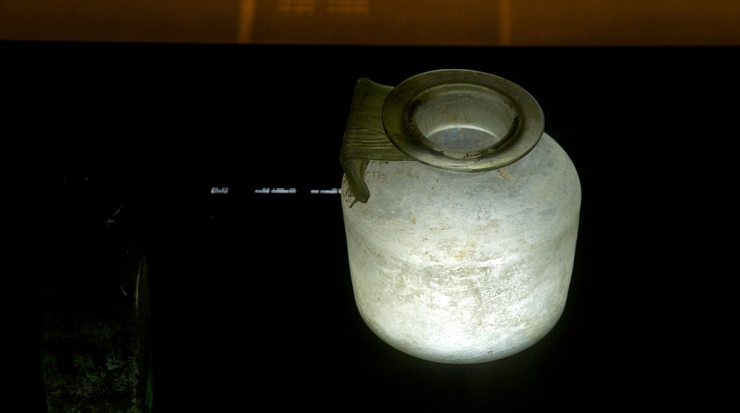 Museum of Underwater Archaeology which includes interior views