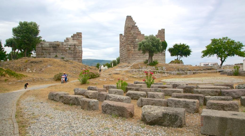 Myndos Gate featuring a ruin