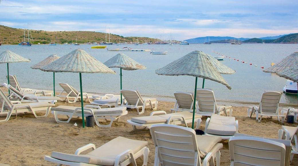 Bardakci Beach featuring a sandy beach