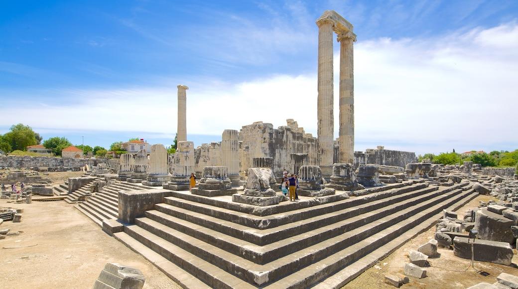 Apollon- und Athena-Tempel das einen Ruine