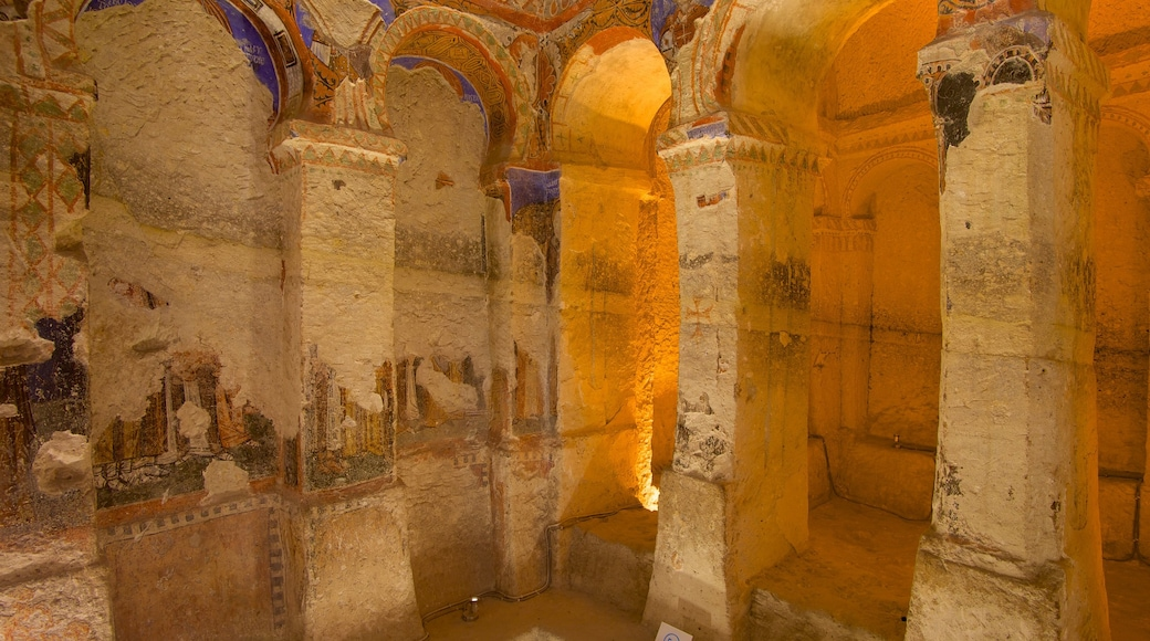Cappadocia featuring a church or cathedral, heritage architecture and religious aspects