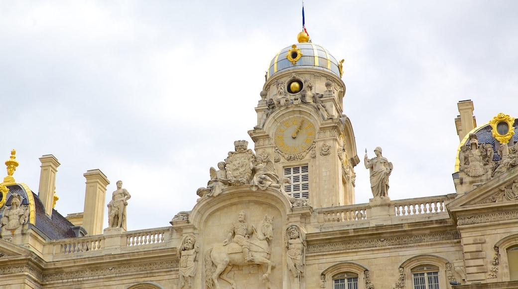 Place des Terreaux welches beinhaltet historische Architektur