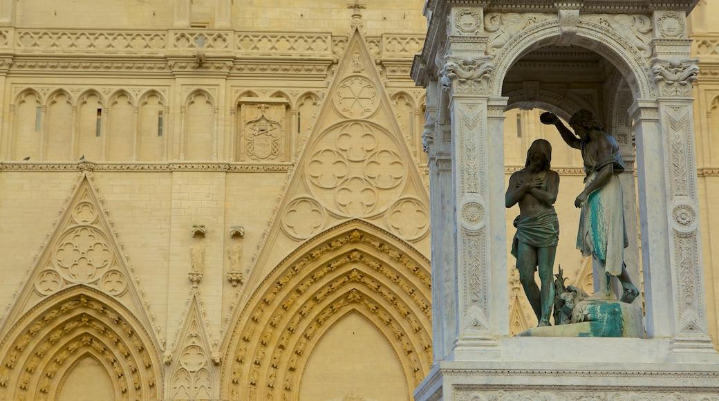 Kathedrale St. Jean das einen religiöse Elemente und Kirche oder Kathedrale