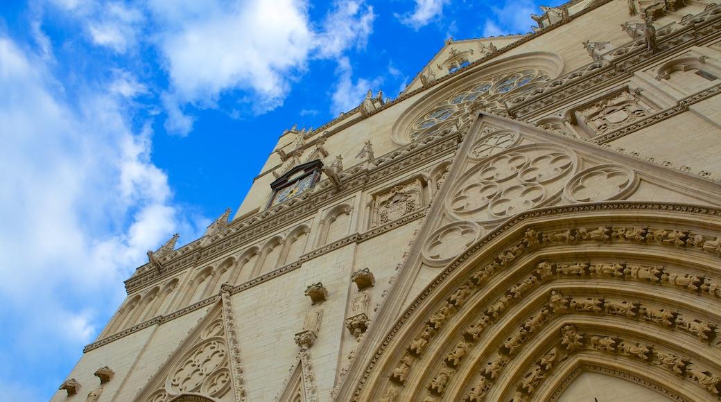 Kathedrale St. Jean welches beinhaltet Kirche oder Kathedrale und religiöse Elemente