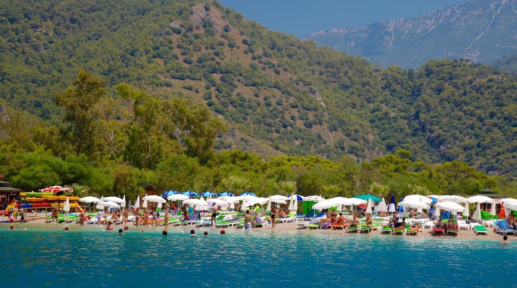 Turkey featuring landscape views and a sandy beach