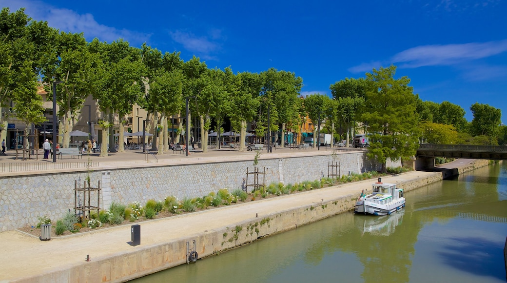 Narbonne qui includes rivière ou ruisseau