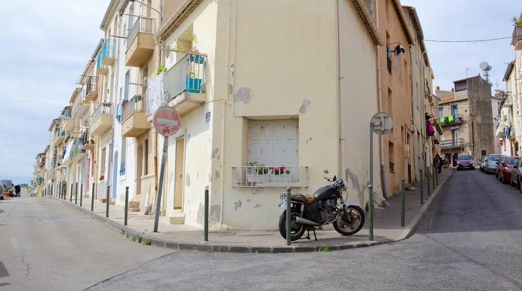 Sète qui includes scènes de rue