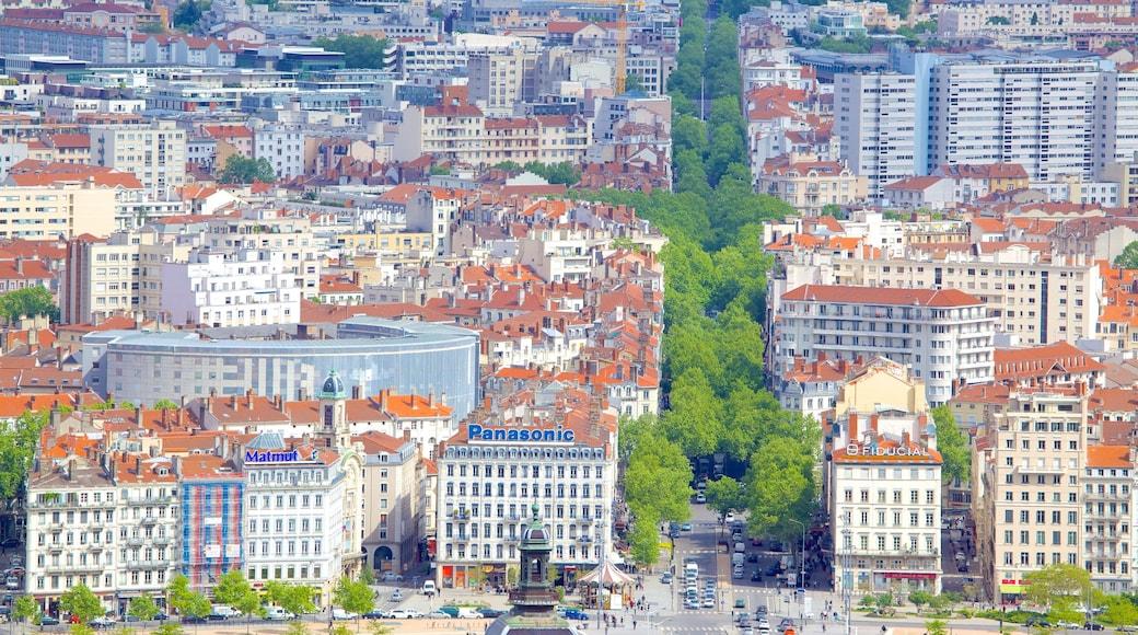 Basilique Notre-Dame mettant en vedette ville