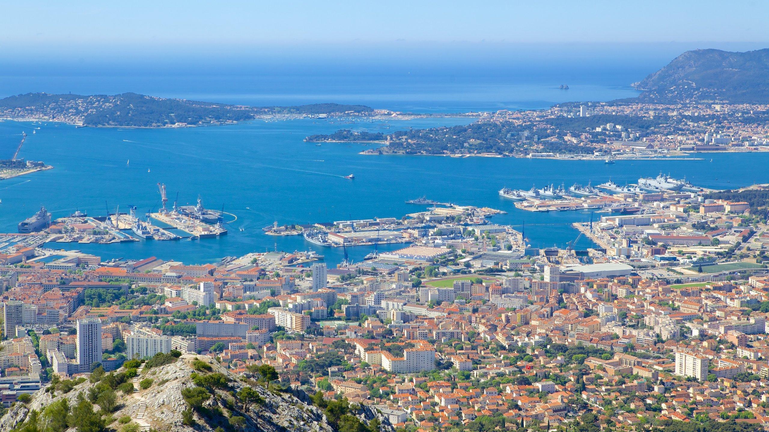 Mont Faron, Toulon, Var, Frankreich