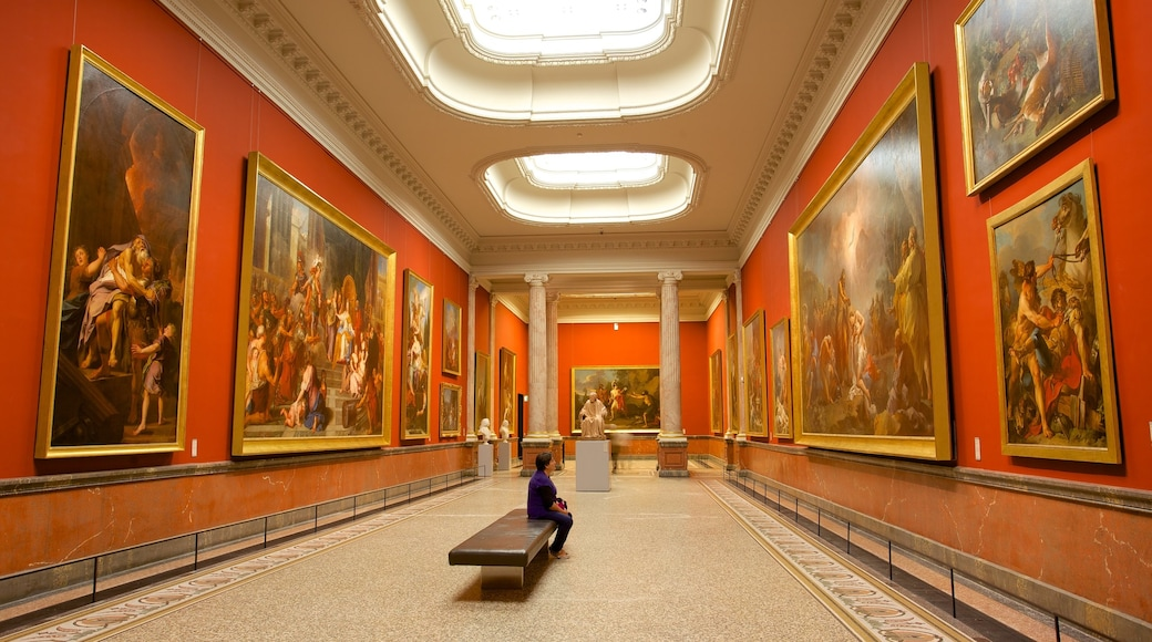 Fabre Museum which includes art and interior views