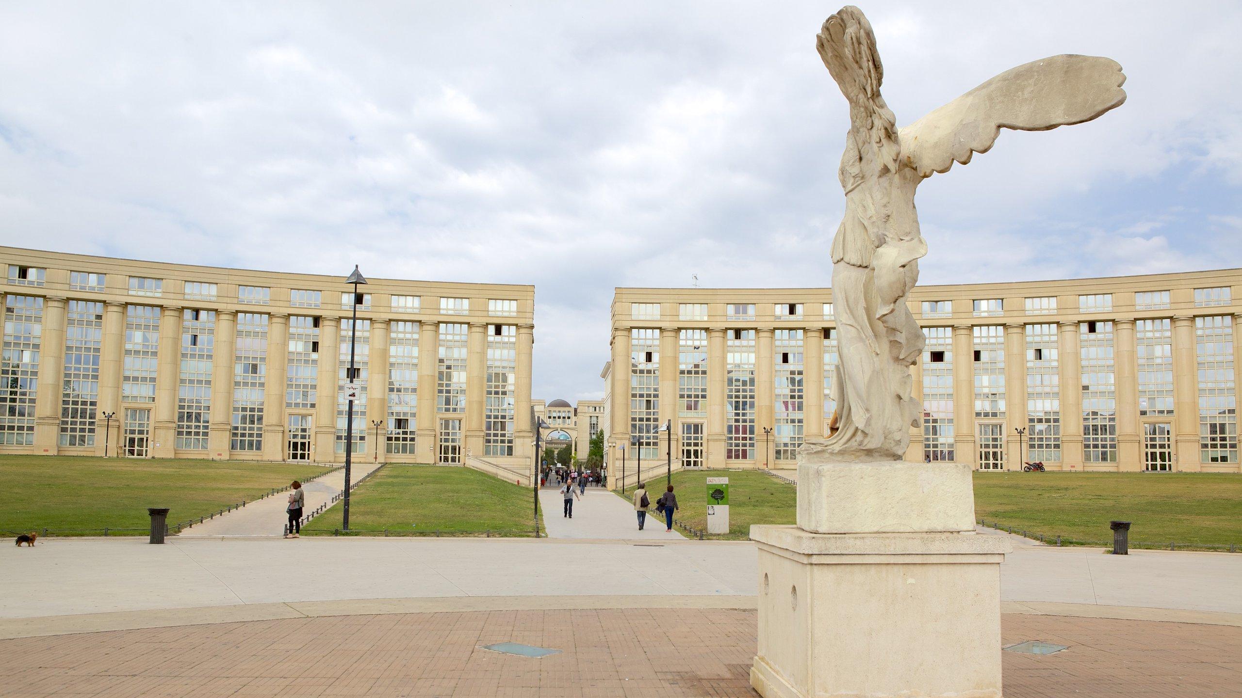 Antigone, Montpellier, Hérault (departement), Frankrijk