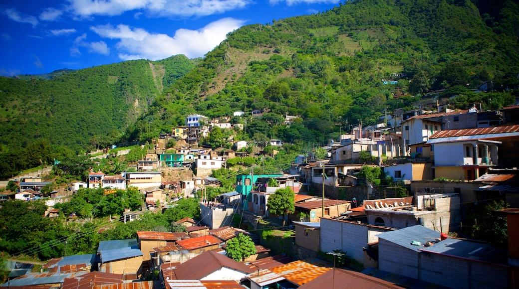 Santa Cruz La Laguna featuring a city and landscape views