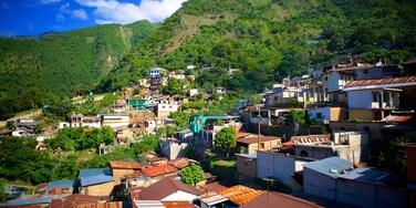 Santa Cruz La Laguna featuring landscape views and a city