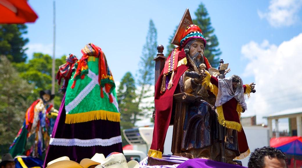 Santiago Atitlan showing religious elements
