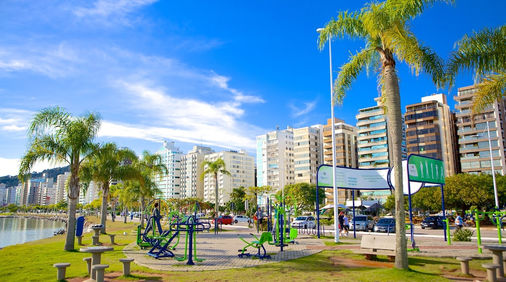 Florianopolis featuring tropical scenes and a park
