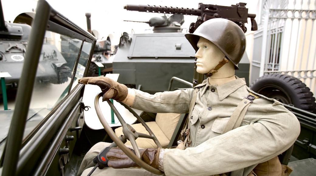 Museu Militar caracterizando itens militares
