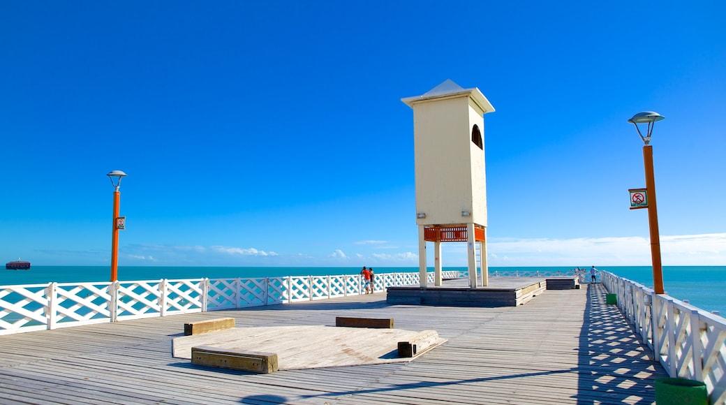 Ponte dos Ingleses showing views and general coastal views