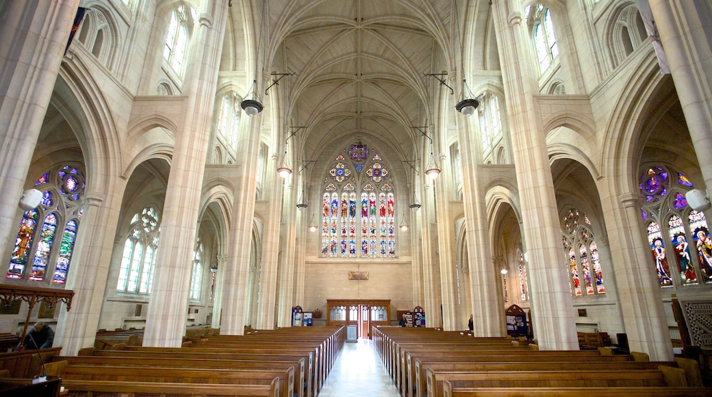 St. Paul\'s Cathedral showing religious aspects, interior views and a church or cathedral