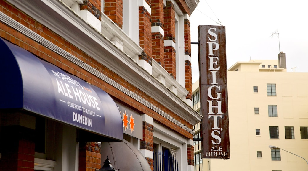 Speight\'s Brewery featuring signage