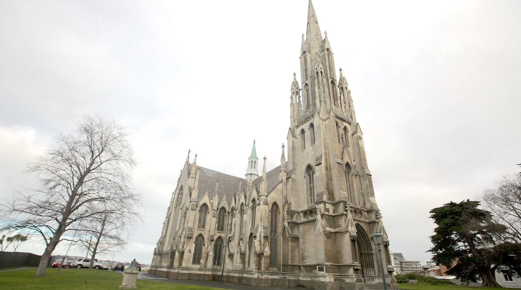 First Church of Otago which includes a church or cathedral