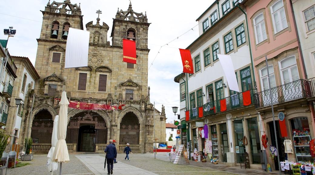 Sé de Braga caracterizando cenas de rua