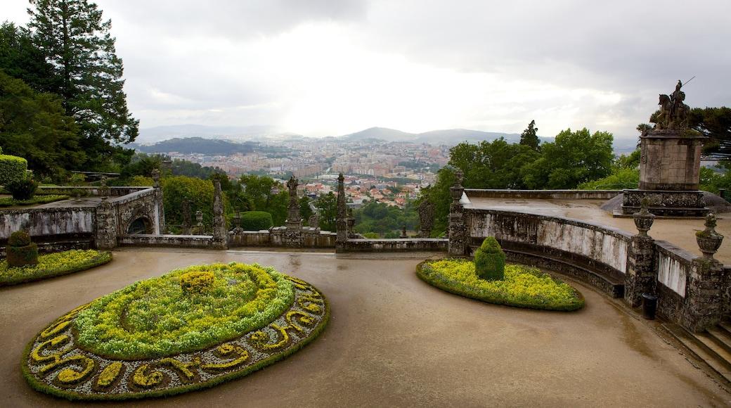 Bom Jesus do Monte mostrando um parque