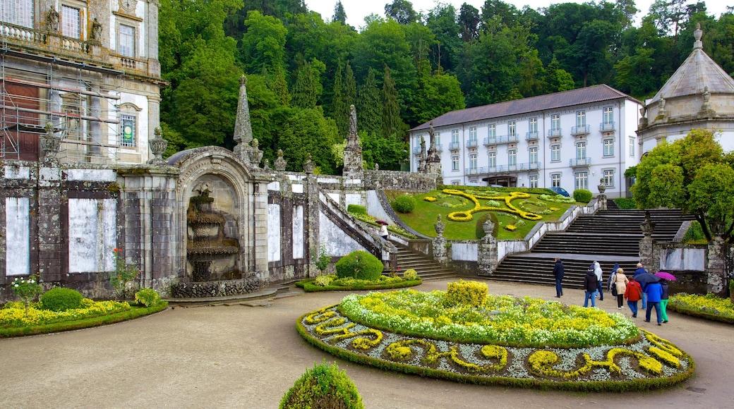 Bom Jesus do Monte caracterizando um castelo e um parque