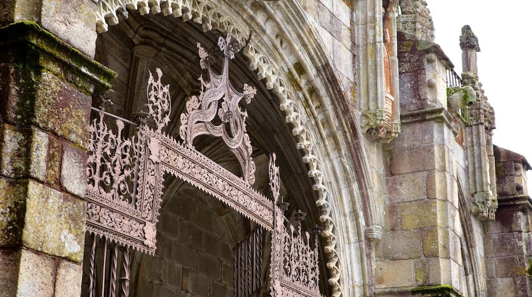 Cathédrale de Braga mettant en vedette patrimoine historique et patrimoine architectural