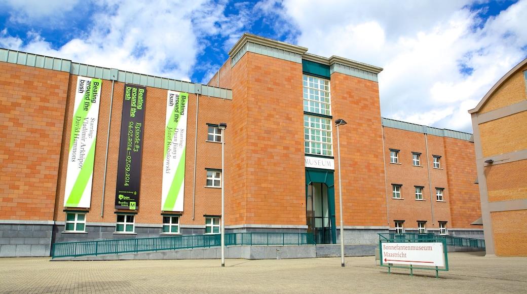 Bonnefantenmuseum bevat straten