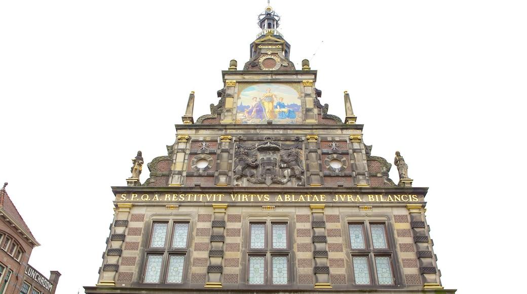 Alkmaar mit einem Geschichtliches und historische Architektur