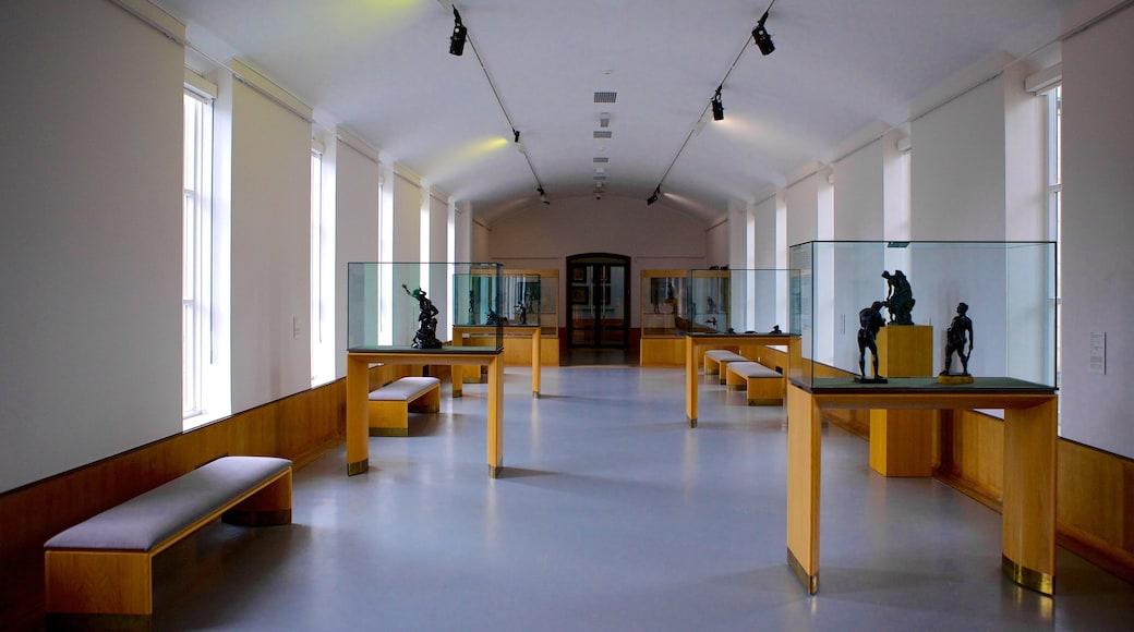 Boijmans Van Beuningen Museum featuring interior views and art