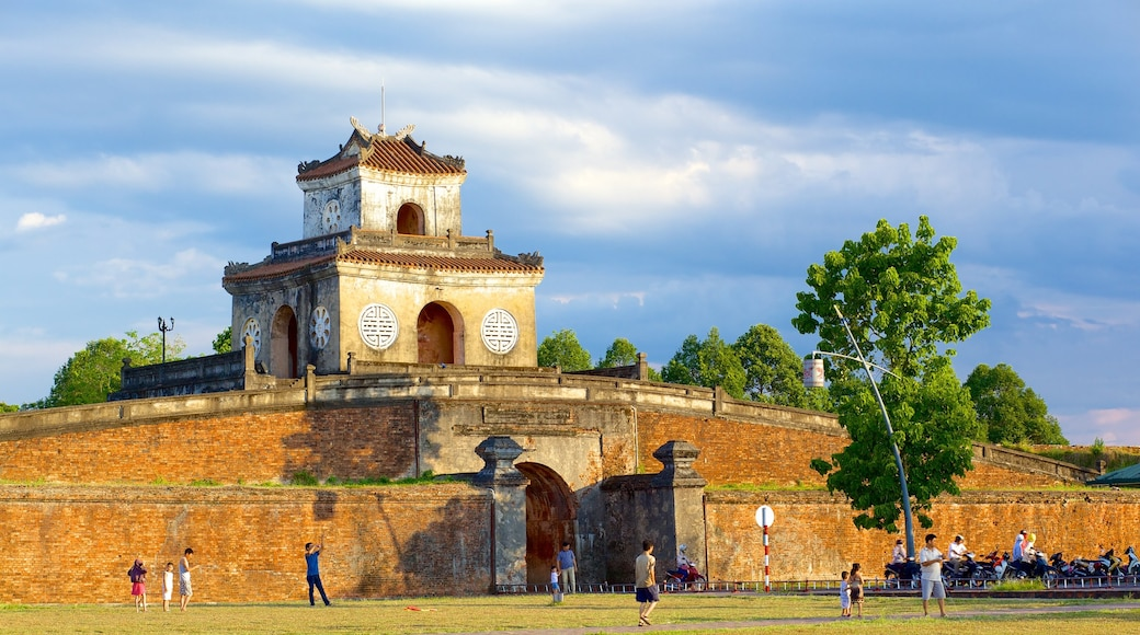 Imperial City which includes a temple or place of worship, a park and heritage elements