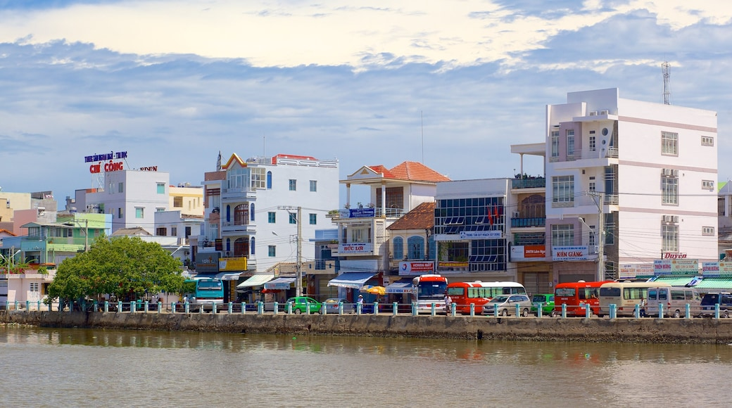 Phan Thiet featuring a river or creek and a city
