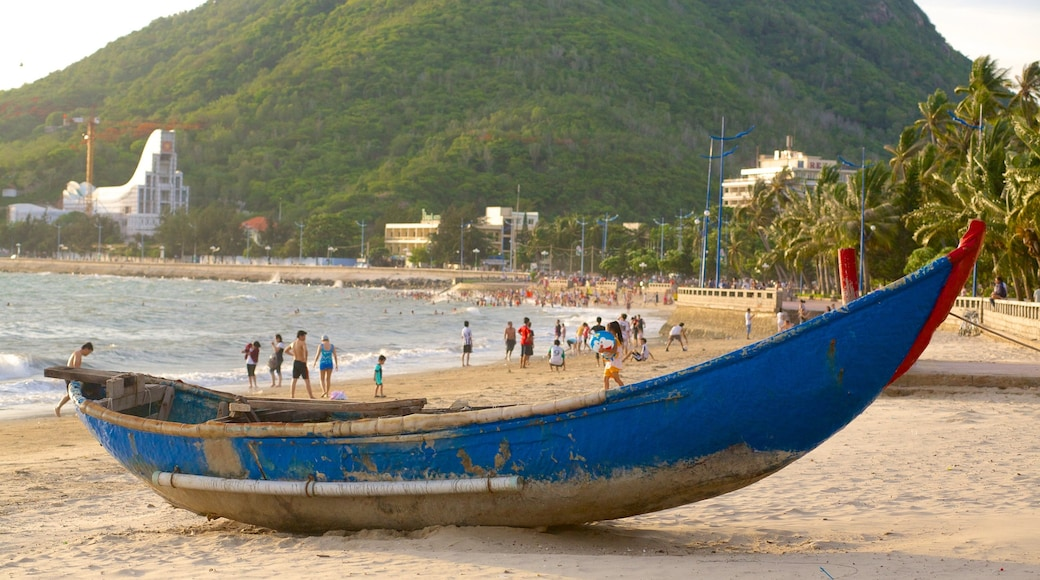 Vung Tau which includes a beach and boating