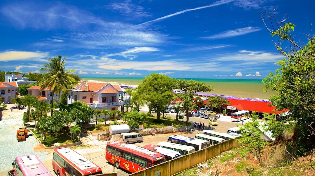 Plage de Long Hai qui includes scènes tropicales et panoramas