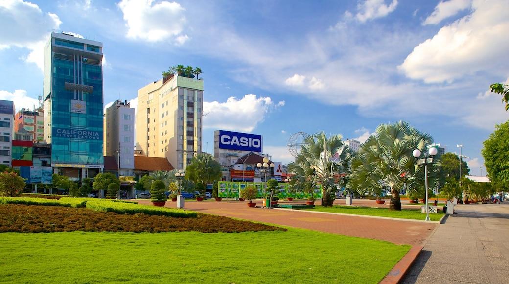팜응라오 을 특징 정원 과 거리 풍경