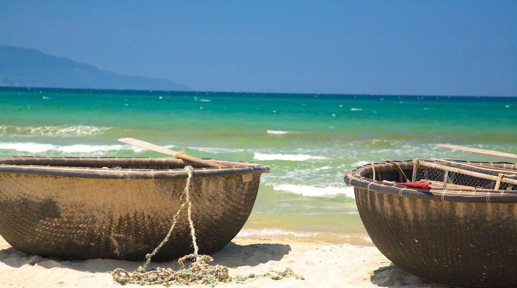 Non Nuoc Beach which includes boating and a sandy beach