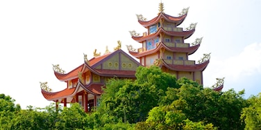 Long Hai featuring a temple or place of worship