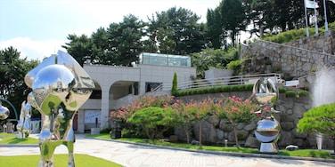 昌原 其中包括 花園 和 戶外藝術