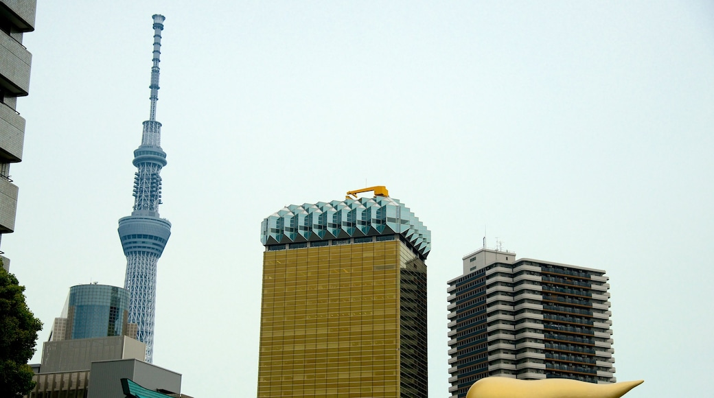 Tokyo Sky Tree featuring a high rise building and cbd