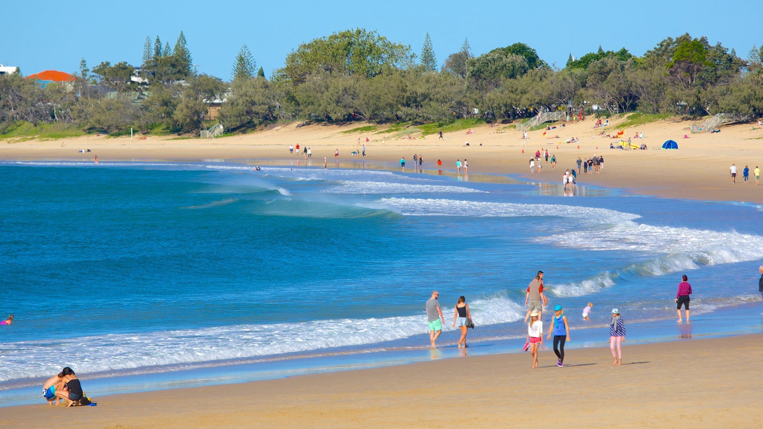Mooloolaba Beach, Sunshine Coast, Queensland, Australië