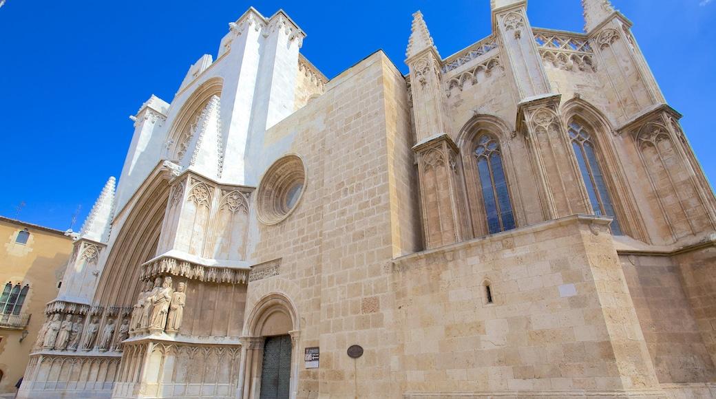 Kathedrale von Tarragona mit einem historische Architektur und Kirche oder Kathedrale