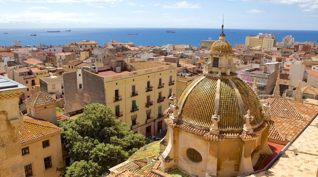 Kathedrale von Tarragona das einen Küstenort, Landschaften und Stadt